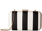 Alice + Olivia Shirley Striped Large Clutch