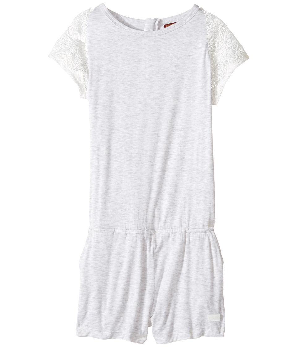 7 For All Mankind Kids - Romper with Lace Sleeve