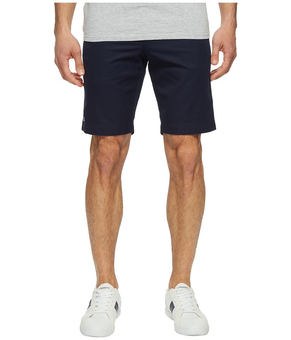 Lacoste Slim Bermuda Shorts (Navy Blue) Men