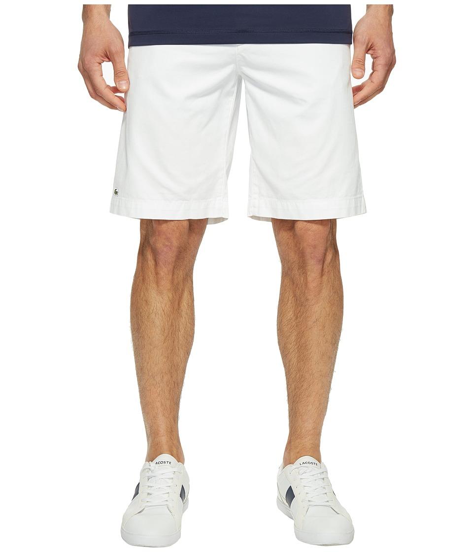 Lacoste Classic Bermuda Shorts (White) Men
