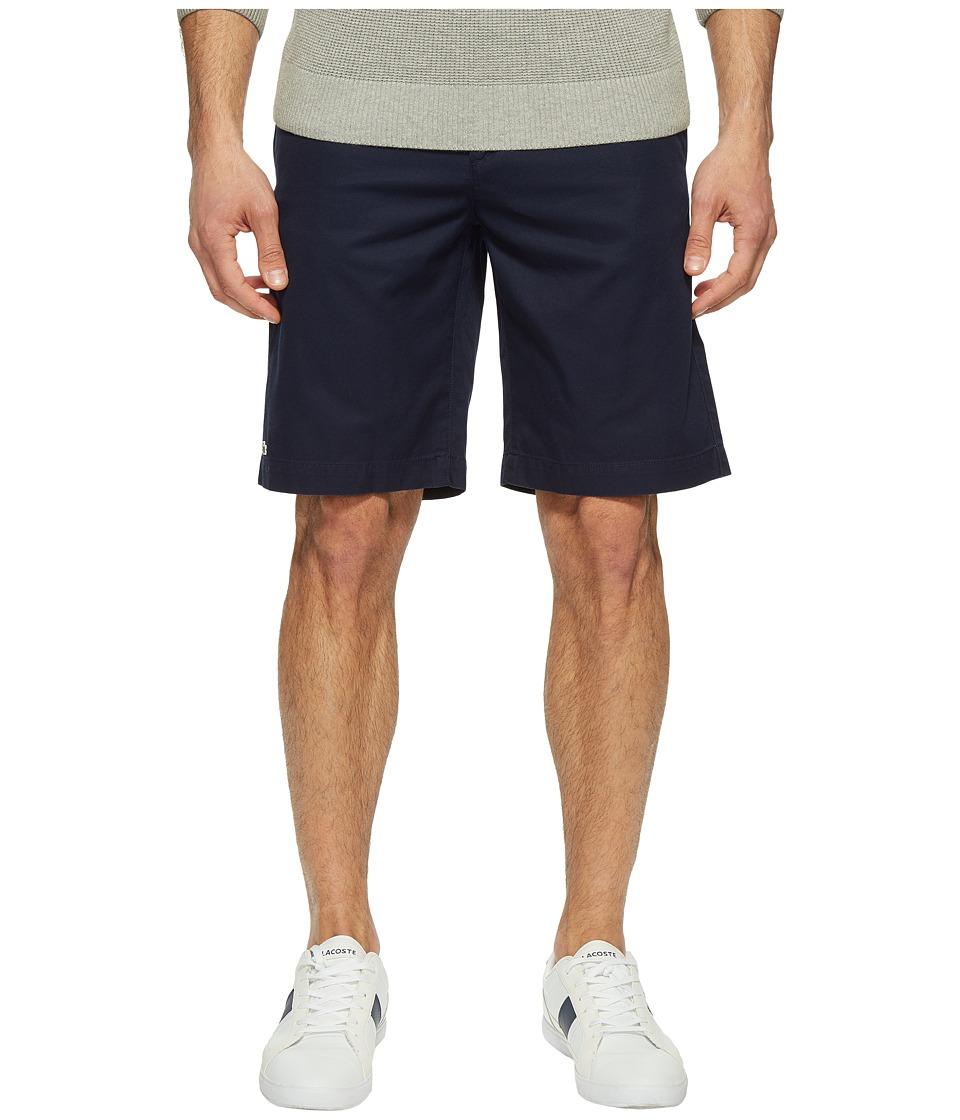 Lacoste Classic Bermuda Shorts (Navy Blue) Men