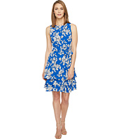 Ivanka Trump - Georgette Double Hem Dress