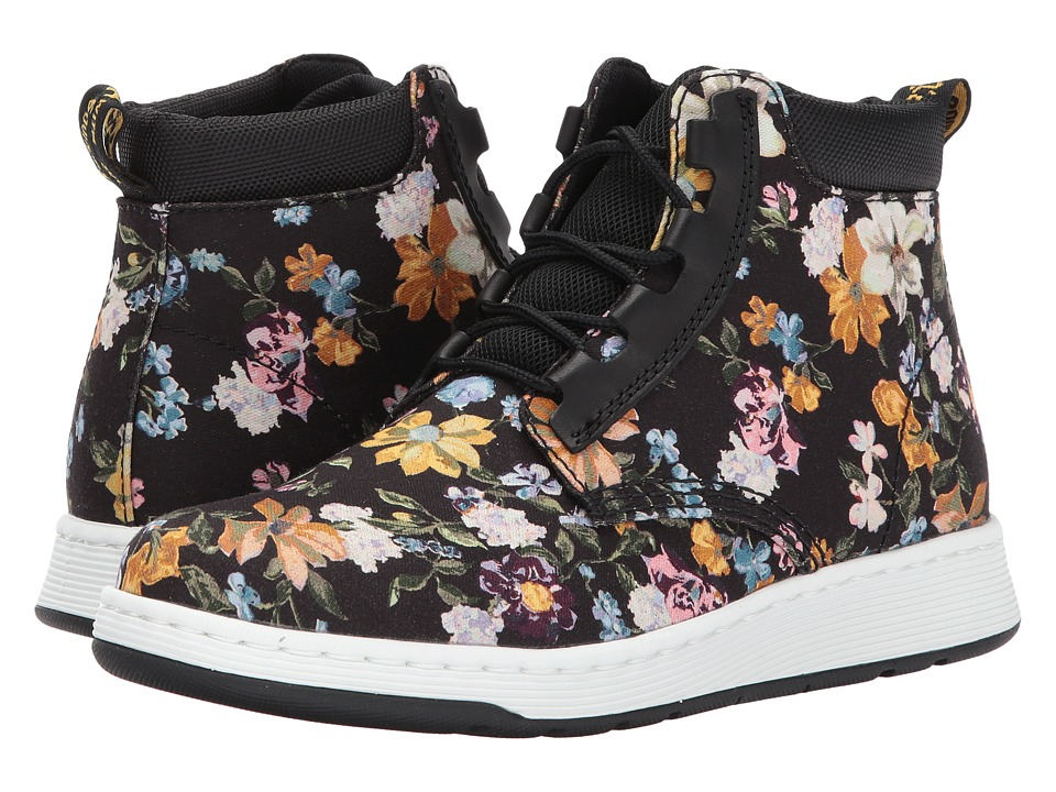 Dr. Martens Darcy Floral Telkes Boot (Black Darcy Floral Fine Canvas/Black Sport Spacer Mesh) Women