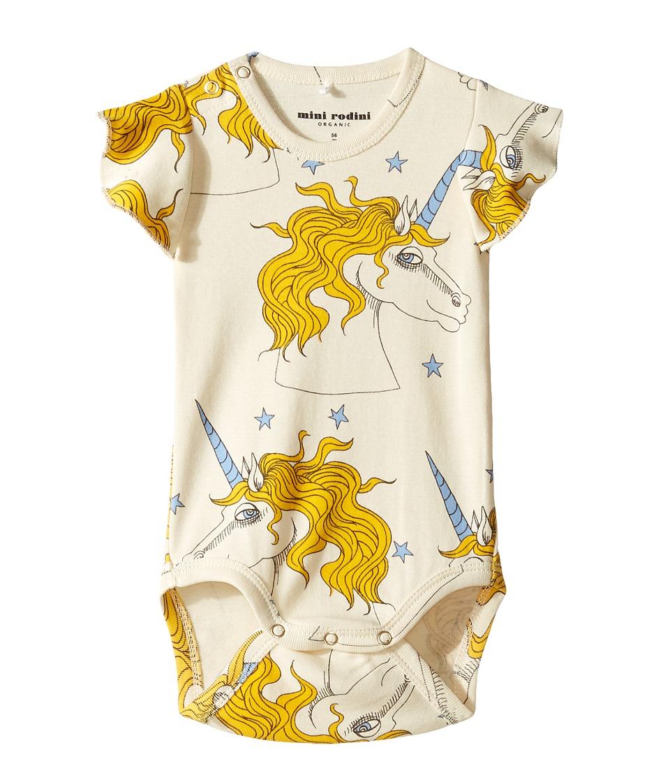 mini rodini - Unicorn Star Wing Bodysuit