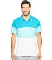 Lacoste - Golf Color Block Stripe Ultra Dry Pique Knit