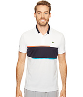Lacoste - T1 Chest Stripe Ultra Dry Pique Knit