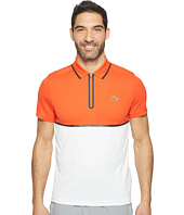 Lacoste - T1 Color Block Ultra Dry w/ Zipper Pique Knit