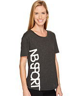 New Balance - Heather Tech Graphic Tee
