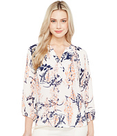 Ivanka Trump - Printed Georgette Long Sleeve Top