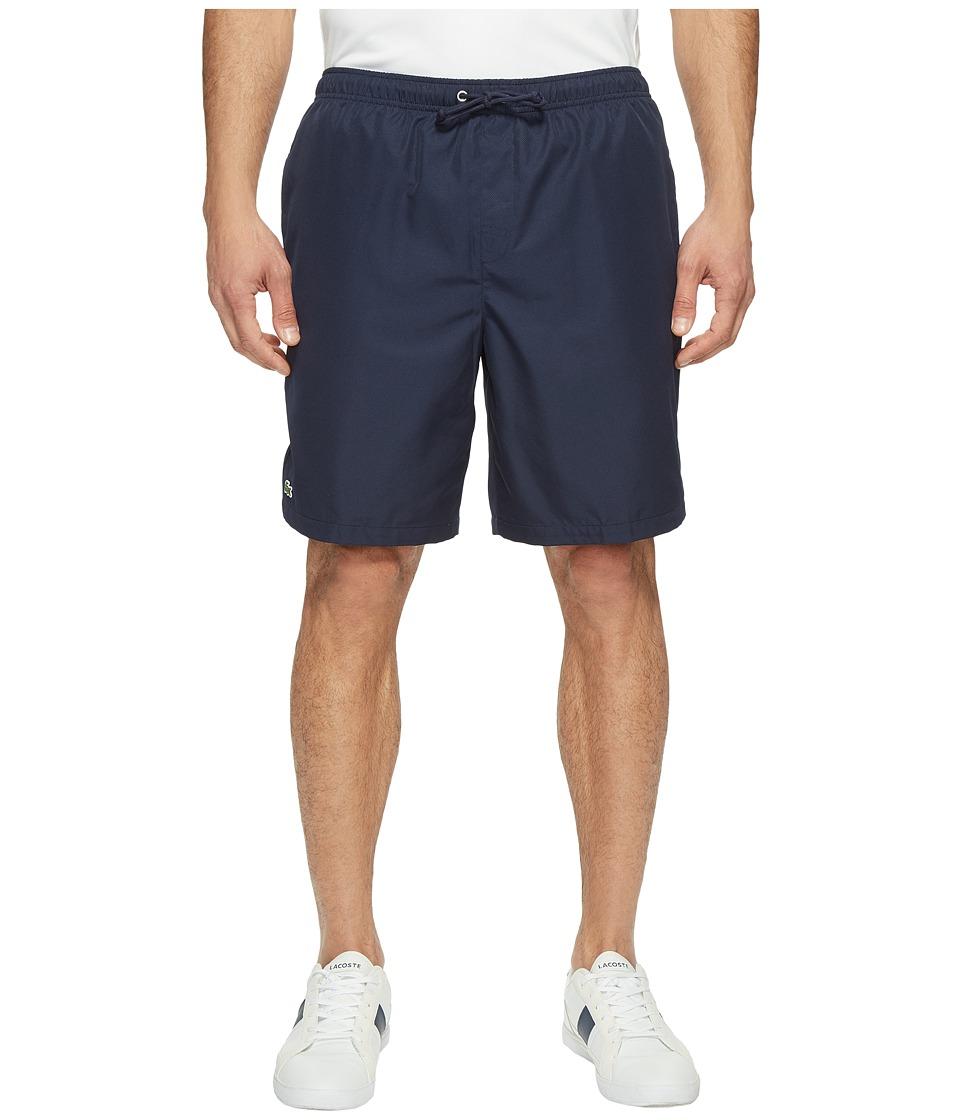 Lacoste Sport Lined Tennis Shorts (Navy Blue) Men