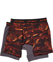 Jockey - Microfiber Performance Midway® Brief 2-Pack