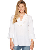 Ivanka Trump - Tunic Top with Hardware Detail