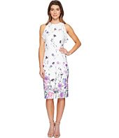 Ivanka Trump - Printed Scuba Dress