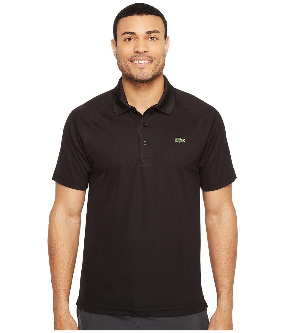 Lacoste Sport Short Sleeve Ultra Dry Raglan Sleeve Polo (...