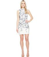 Ivanka Trump - Printed Floral Scuba Dress