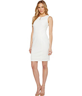 Ivanka Trump - Sleveeless Scuba Dress with Hardware