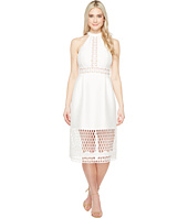 Ivanka Trump - Halter Dress with Lace Cut Outs