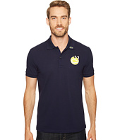 Lacoste - Yazbukey Short Sleeve Pique with Googly Eyes Graphic