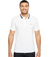 Lacoste - Short Sleeve Semi-Fancy Stretch w/ Rubber Croc Regular Fit