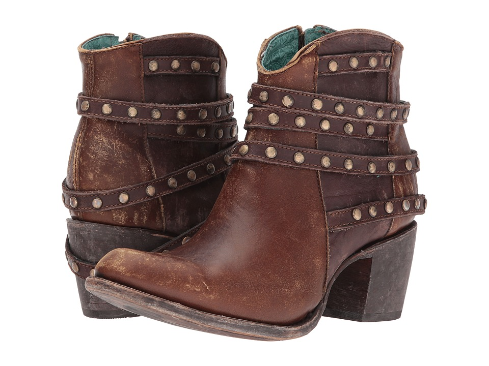 Corral Boots - C2993 (Brown) Cowboy Boots