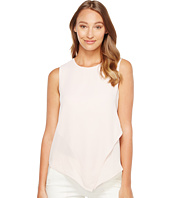 Ivanka Trump - Georgette Sleeveless Crew Neck Asymmetrical Hem