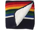 Pendleton Knit Sherpa Baby Blanket