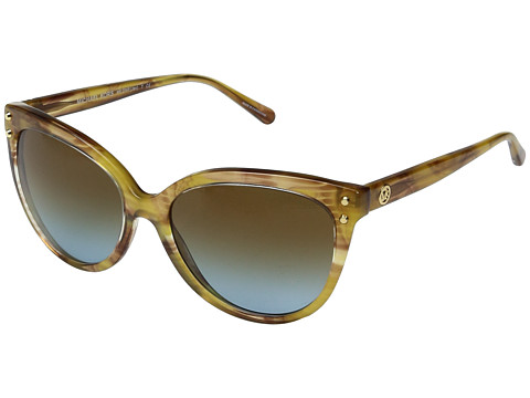Michael Kors Jan MK2045 55mm - Yellow Floral/Amber Blue Gradient