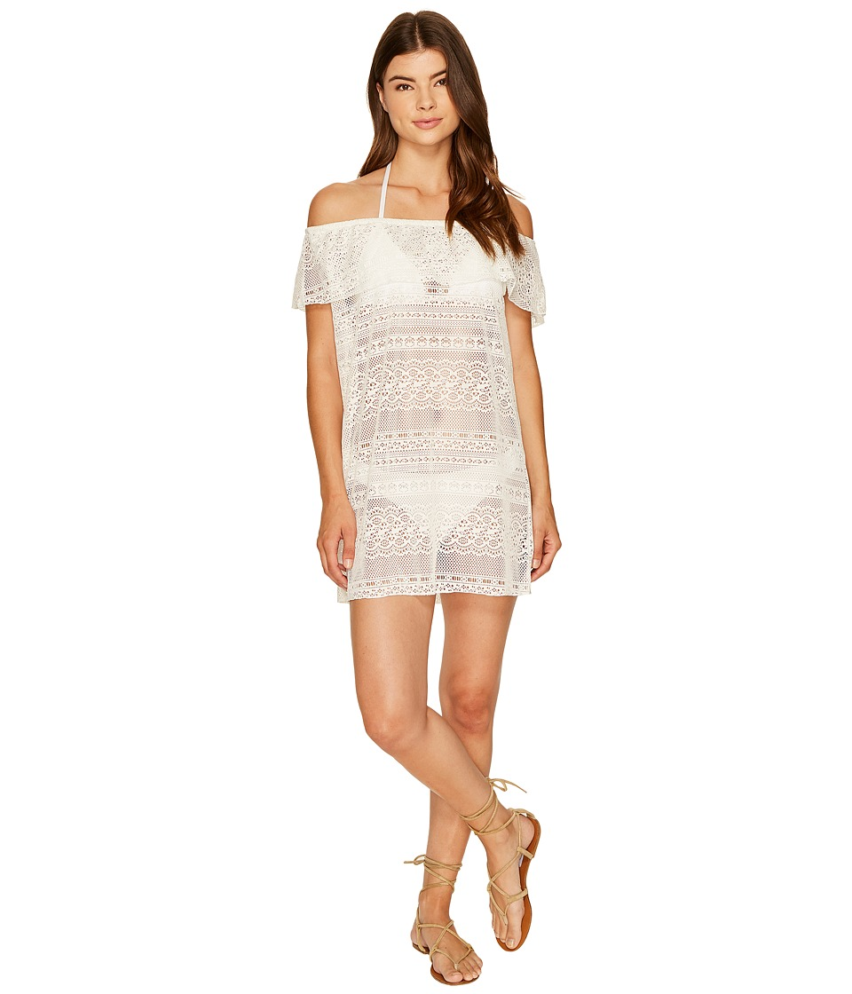 Roxy Surf Bride Dress Cover-Up (Marshmallow) Women