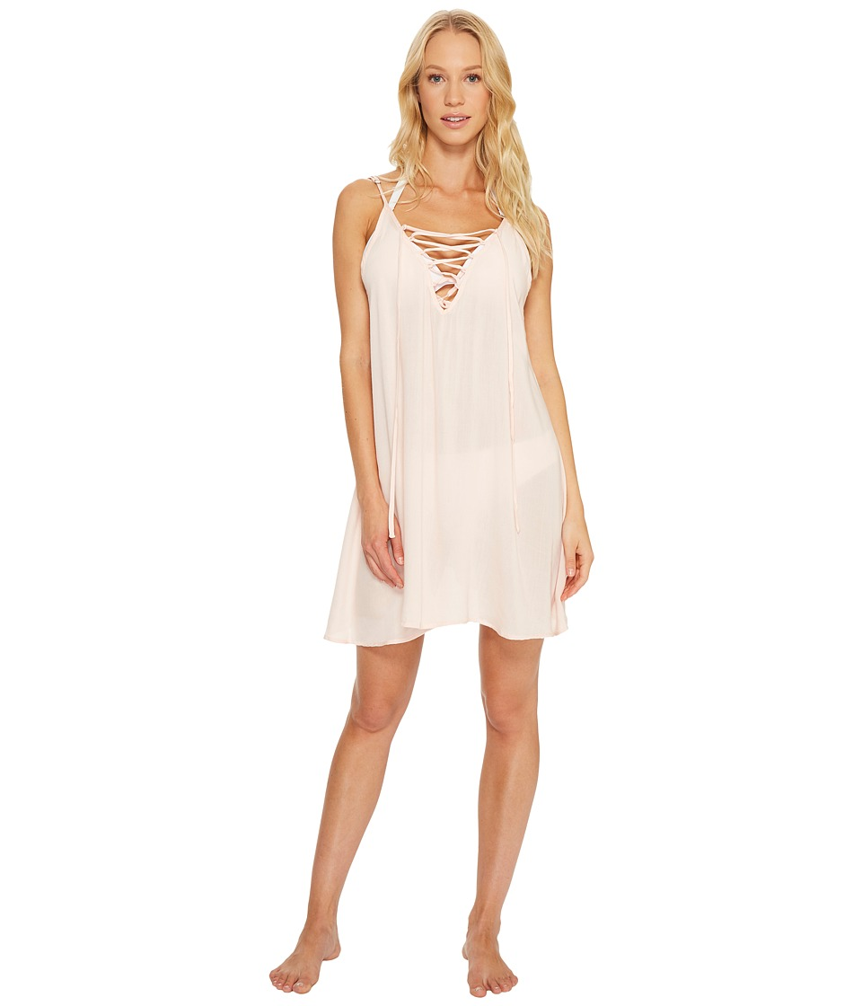 Roxy Strappy Love Dress Cover-Up (Pale Dogwood) Women