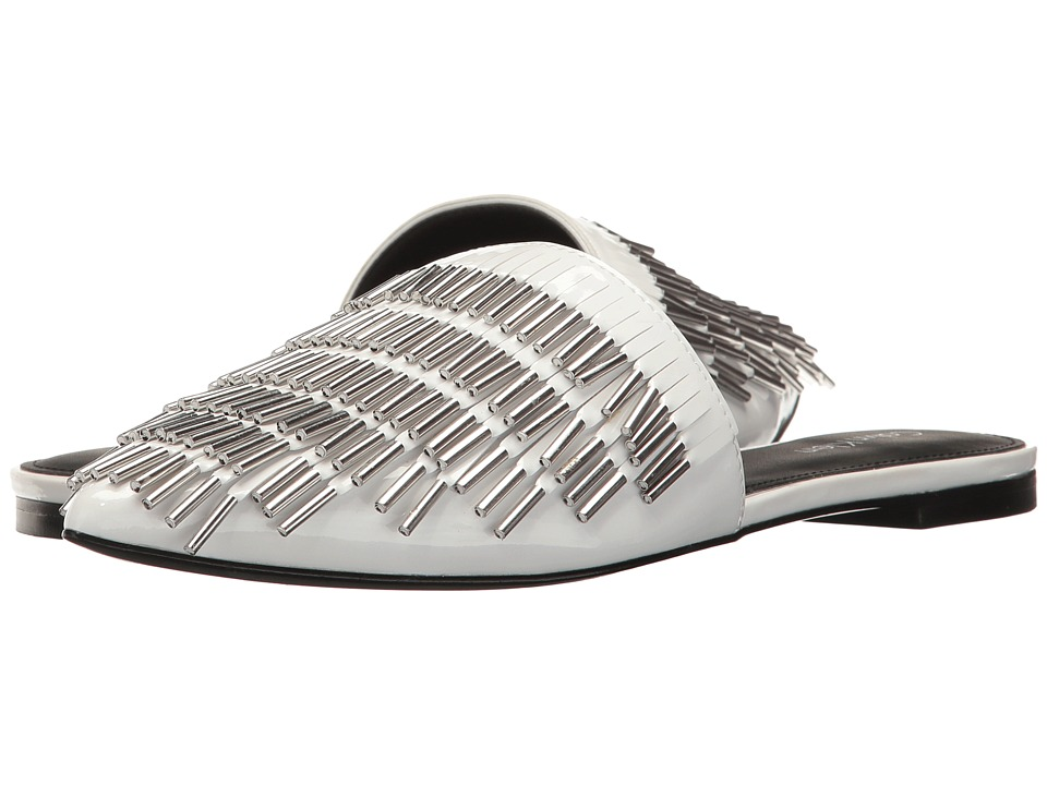 Calvin Klein Addie (Platinum White Patent) High Heels