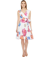 Calvin Klein - Floral Printed Cotton Voil Dress