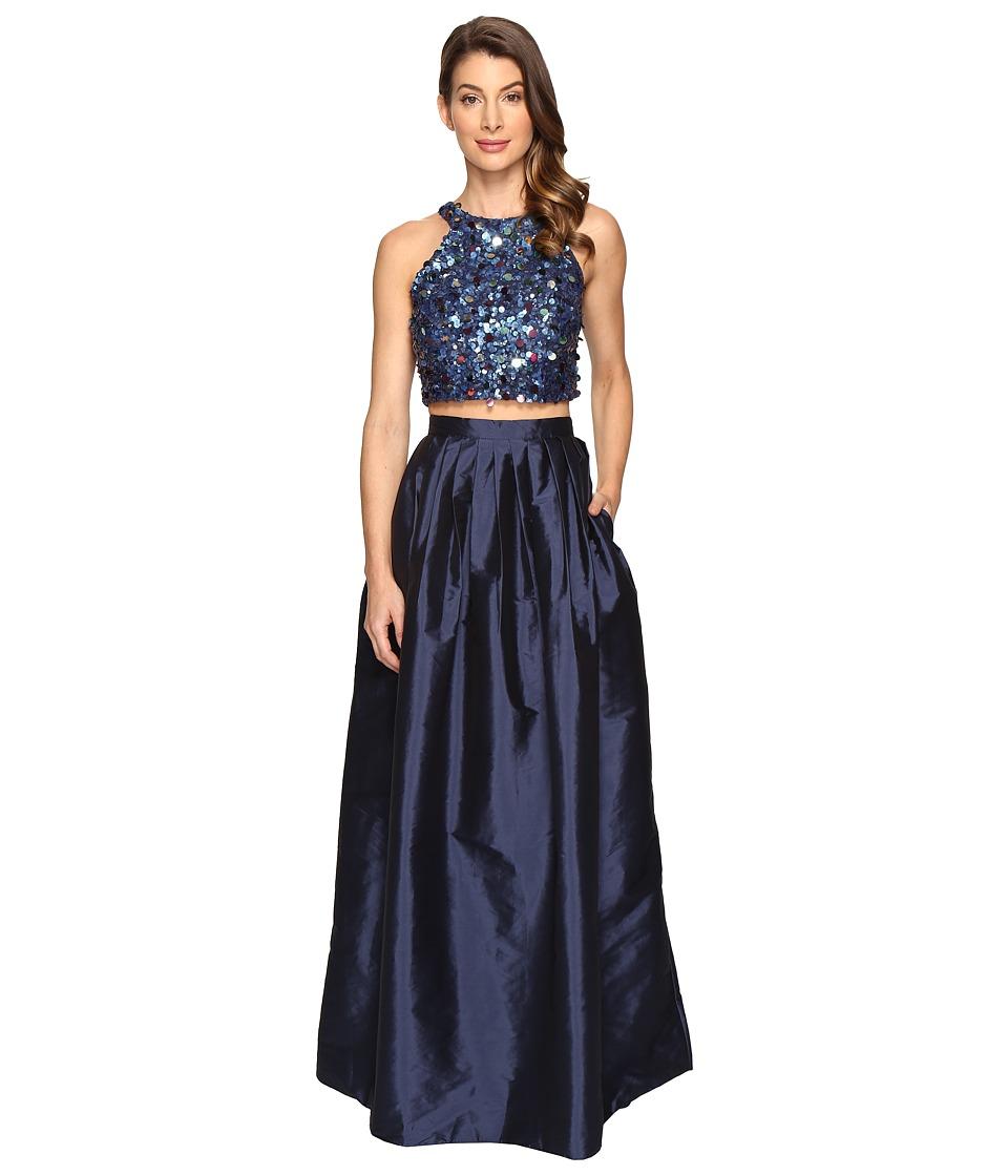 Adrianna Papell - Beaded Crop Dress