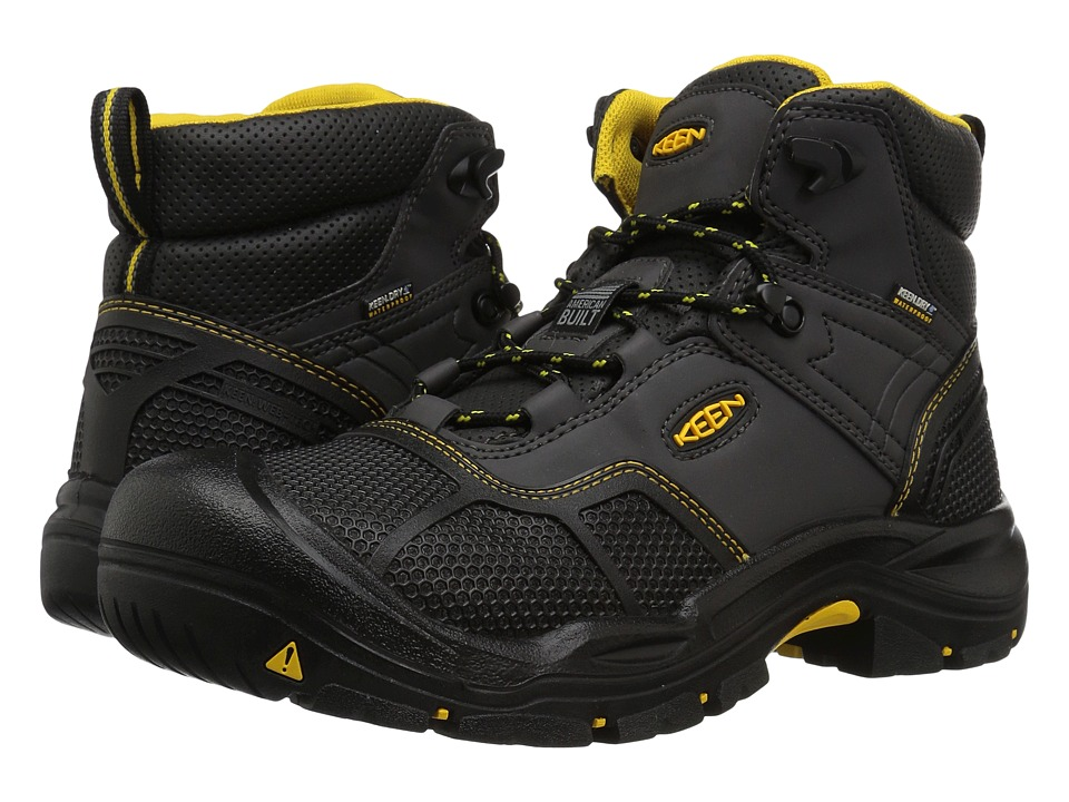 Keen Utility Logandale Waterproof Steel Toe (Raven/Black) Men