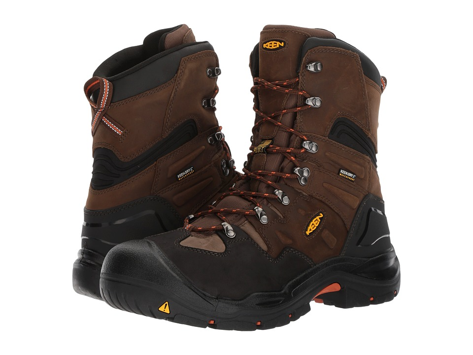 Keen Utility Coburg 8 Waterproof (Cascade Brown/Brindle) Men
