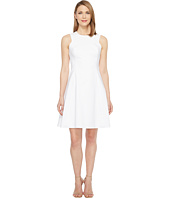 Calvin Klein - Square Armhole Fit & Flare Dress