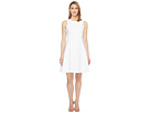 Calvin Klein - Square Armhole Fit & Flare Dress