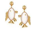 Tory Burch - Fish Pendant Earrings