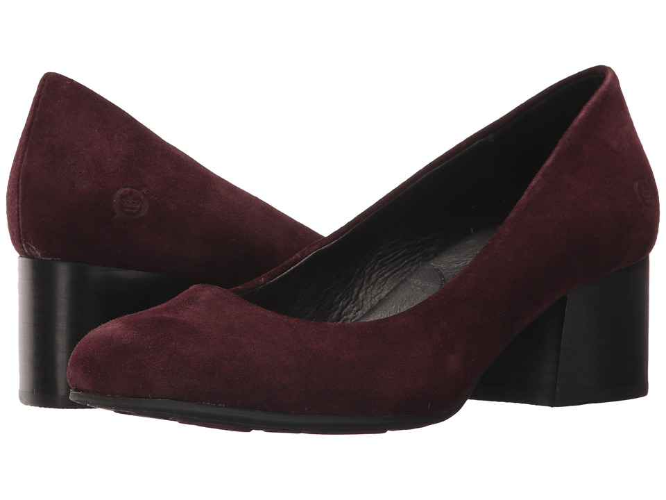 Born Amery (Burgundy Suede) High Heels
