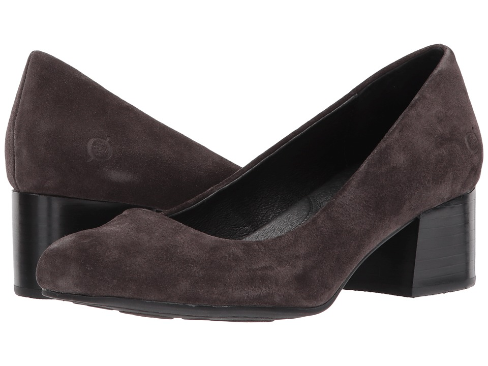 Born Amery (Dark Grey Suede) High Heels