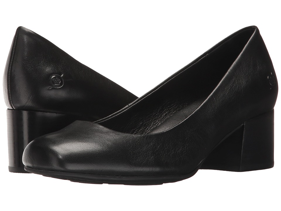 Born Amery (Black Full Grain) High Heels