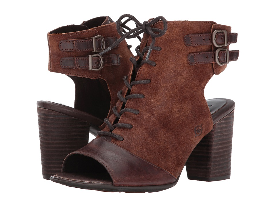 Born Blane (Rust/Rust Combo) High Heels