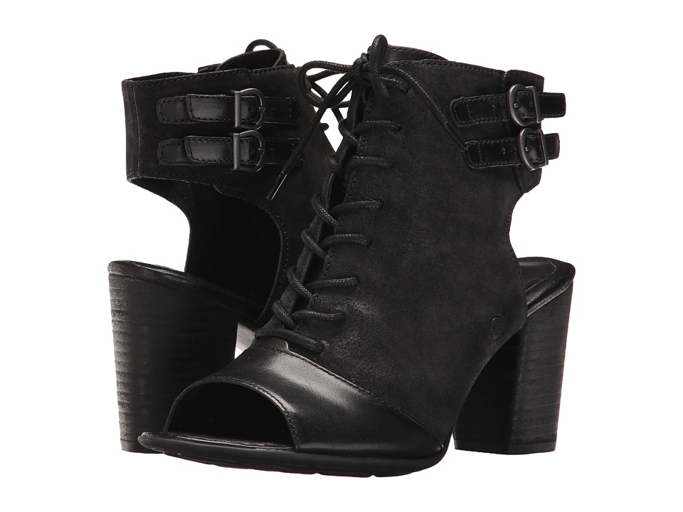 Born Blane (Black/Black Combo) High Heels
