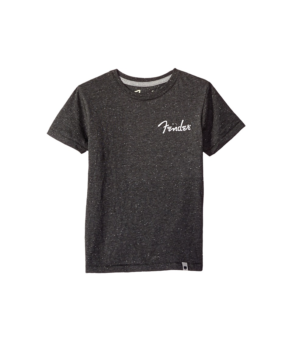 Lucky Brand Kids Out of This World Short Sleeve Tee in Neppy Jersey (Big Kids) (Dark Heather) Boy