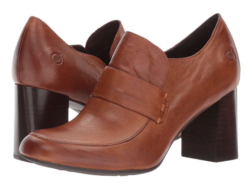 Born Mocho (Tan Full Grain) High Heels