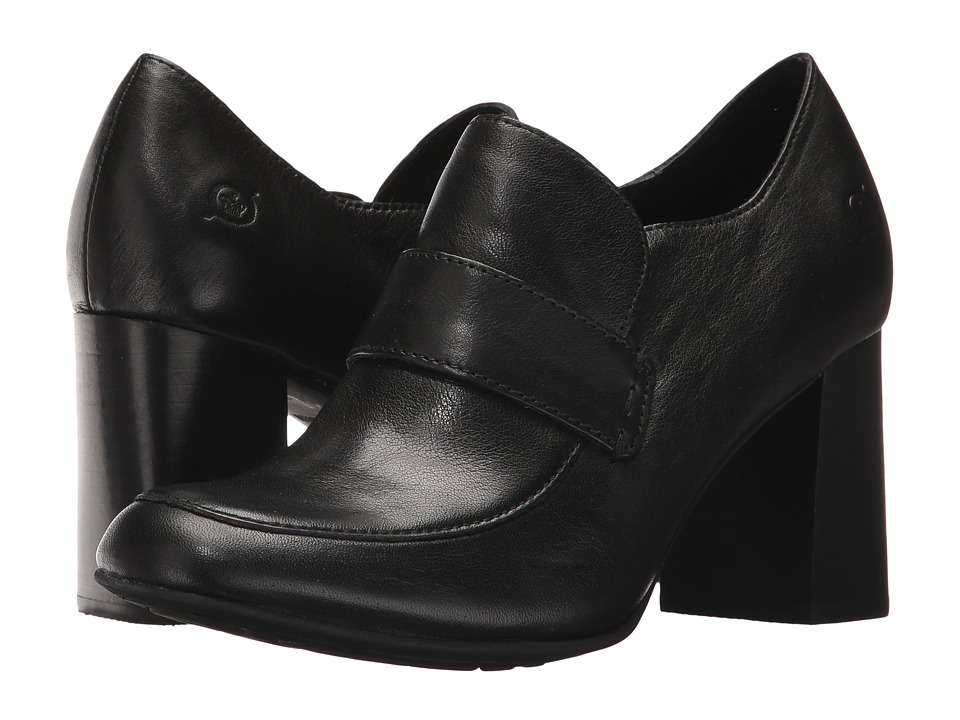 Born Mocho (Black Full Grain) High Heels