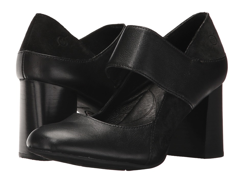 Born Motola (Black/Black Combo) High Heels