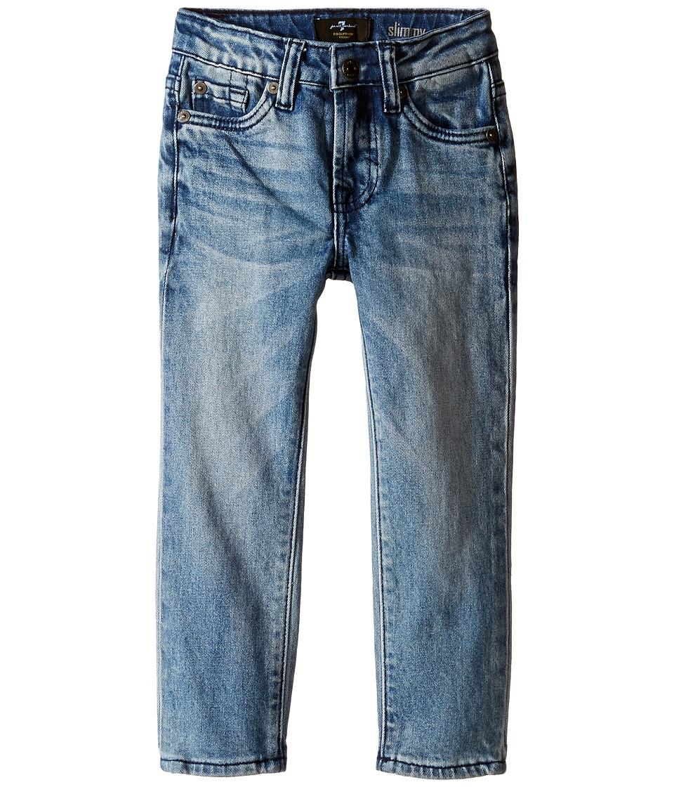 7 For All Mankind Kids - Slimmy Foolproof Jeans in Ivory Coast