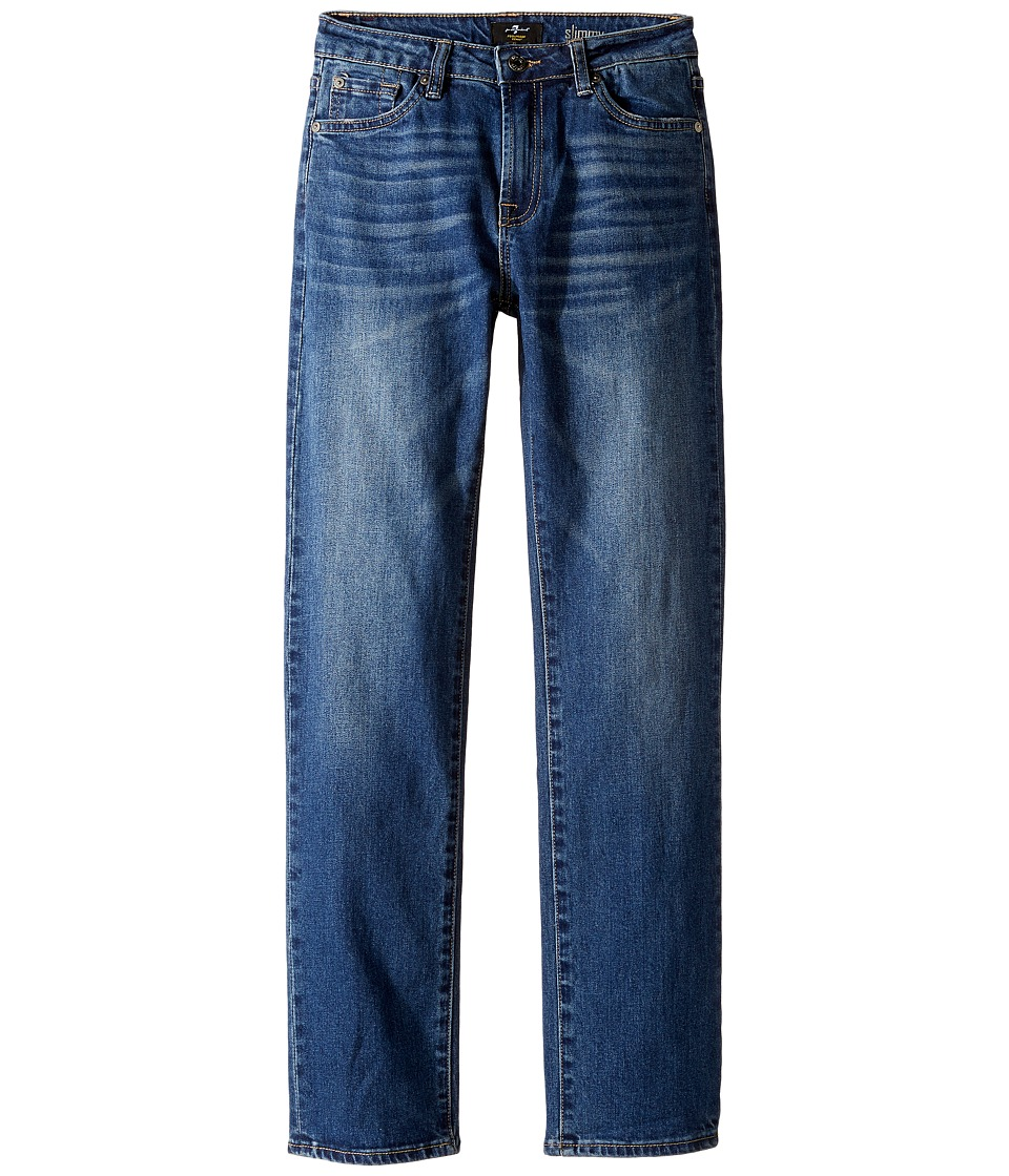 7 For All Mankind Kids Slimmy Foolproof Jeans in Visionary (Big Kids) (Visionary) Boy