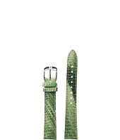 Michele - 16mm Spring Lizard Strap Green