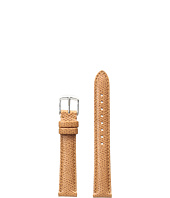 Michele - 16mm Saddle Leather Strap Brown
